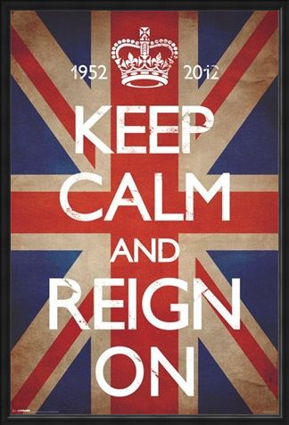 Framed Framed Keep Calm & Reign On - Keep Calm and Carry On