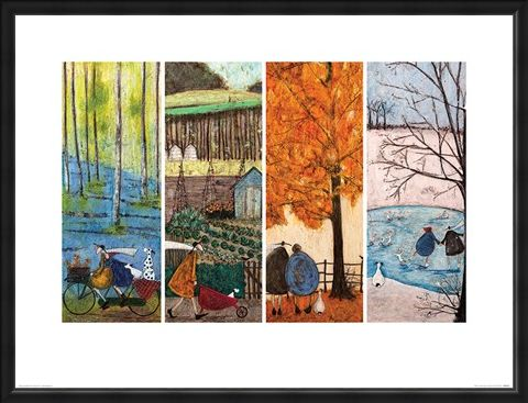 Framed Framed Which Is Your Favourite Season? - Sam Toft