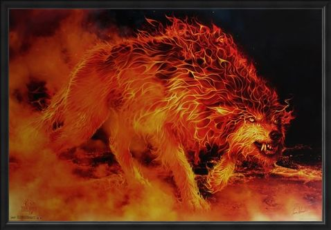 Framed Framed Fire Stalker - Tom Wood