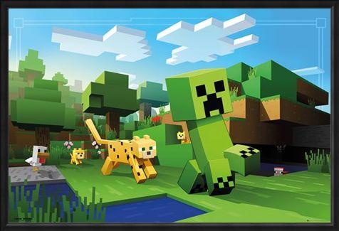 Framed Framed Ocelot Chase - Minecraft