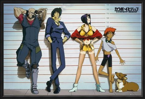 Framed Framed Line Up - Cowboy Bebop
