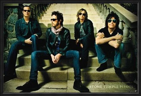 Framed Framed San Diego Rockers - Stone Temple Pilots