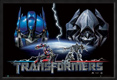 Framed Framed Transformers – Good and Evil - The Transformers Movie