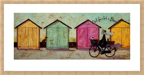 Framed Framed Out For A Bit O' Brunch - Sam Toft