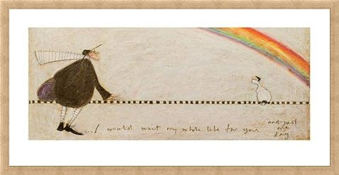Framed Framed I Would Wait My Whole Life For You - Sam Toft