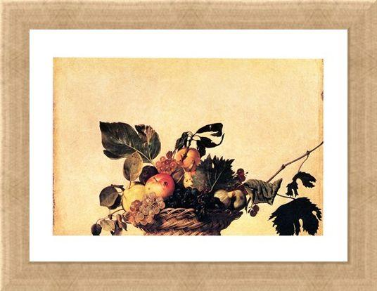Framed Framed Cesto Di Frutta - Caravaggio