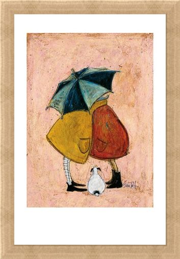 Framed Framed A Sneaky One - Sam Toft