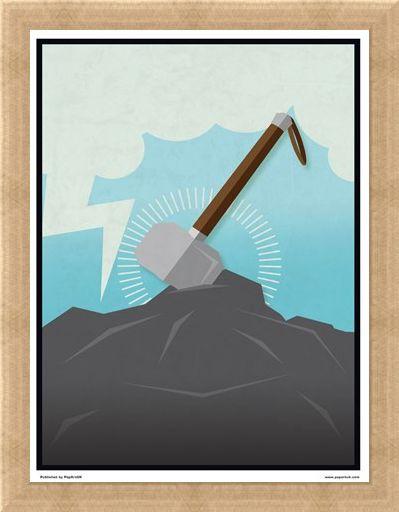 Framed Framed Minimal Movies: Thor - Thor's Hammer