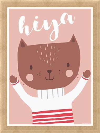 Framed Framed A Fabulous Feline - Hiya!
