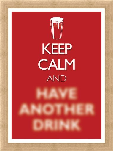 Framed Framed Keep Calm & Have Another Drink - Keep Calm & Carry On