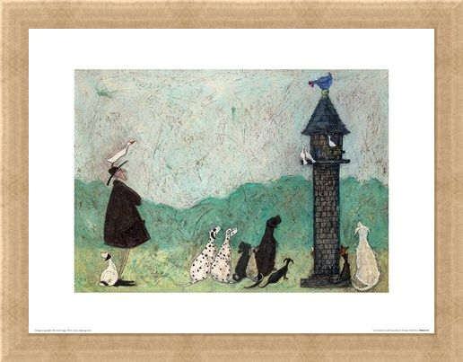 Framed Framed An Audience With Sweetheart - Sam Toft