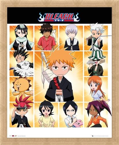 Framed Framed Chibi Characters - Bleach
