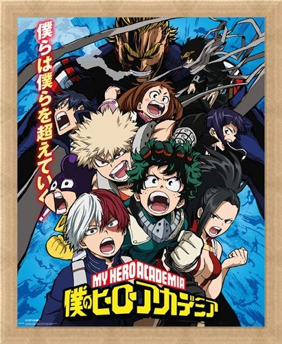 Framed Framed Season 2 - My Hero Academia