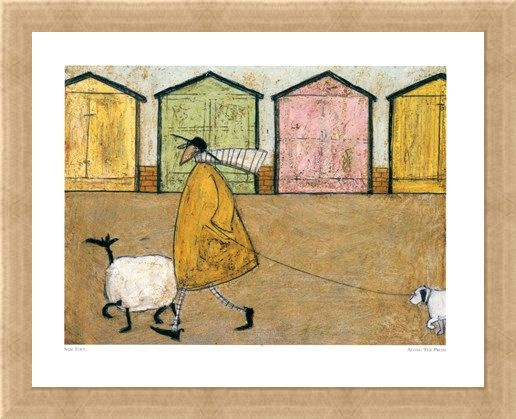 Framed Framed Along the Prom - Sam Toft