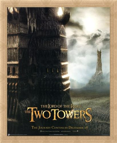 Framed Framed The Two Towers - Lord of the Rings