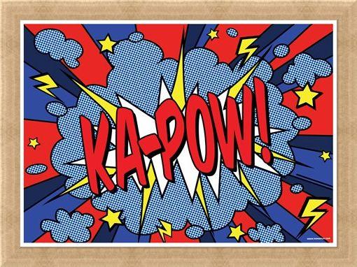Framed Framed Ka-Pow! - Comic Sounds