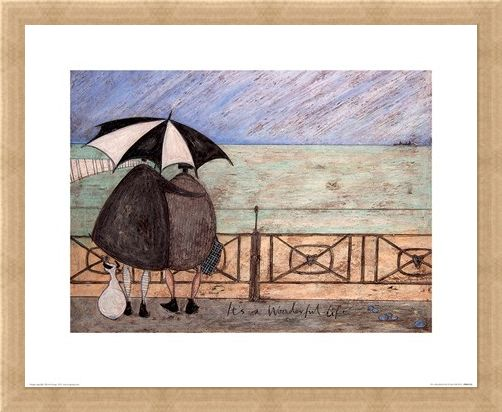 Framed Framed It's A Wonderful Life - Sam Toft