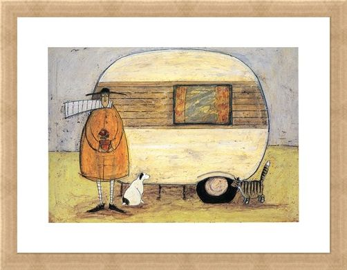 Framed Framed Home from Home - Sam Toft