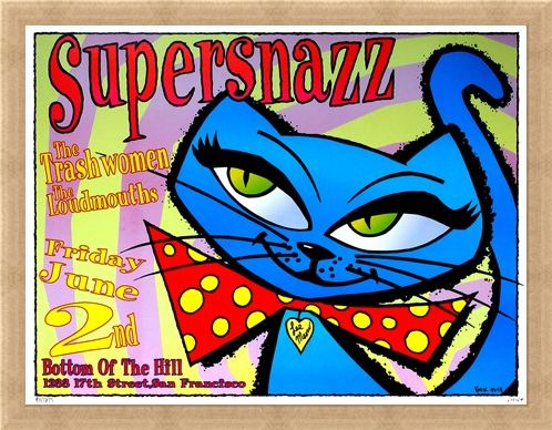 Framed Framed Supersnazz - Frank Kozik