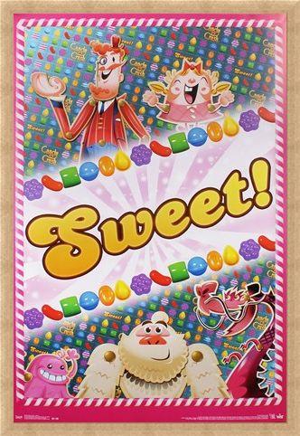 Framed Framed Sweet! - Candy Crush