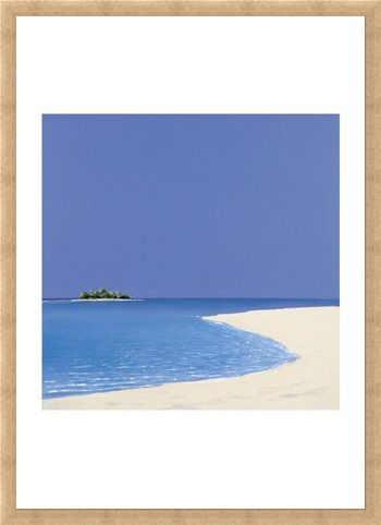 Framed Framed Island in the Sun I - Werner Eick