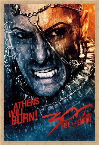 Framed Framed Athens Will Burn! - 300:Rise Of An Empire