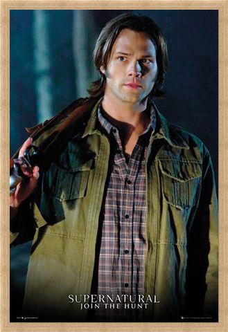 Framed Framed Jared Padalecki is Sam Winchester - Supernatural