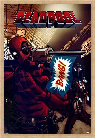 Framed Framed Bang! - Deadpool
