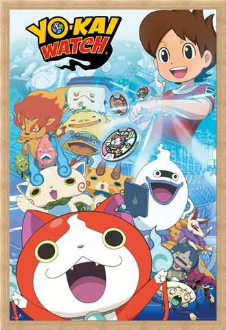 Framed Framed Nate And Friends - Yo-Kai Watch