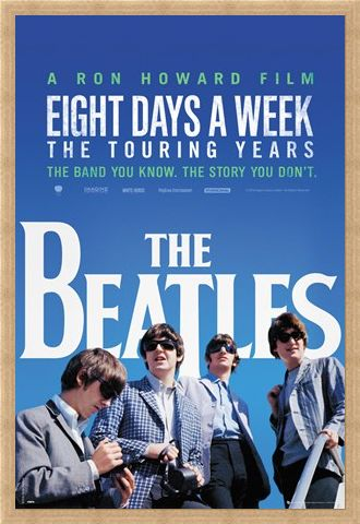 Framed Framed Eight Days A Week: The Touring Years - The Beatles Movie