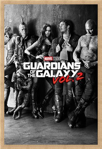 Framed Framed Black and White Teaser - Guardians Of The Galaxy Vol.2