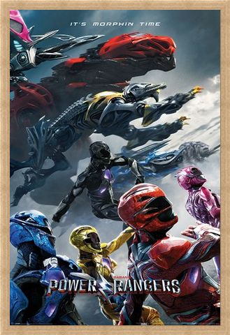 Framed Framed Movie Charge - Power Rangers