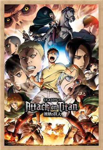 Framed Framed Attack On Titan - Season 2
