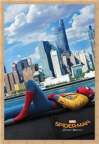 Framed Framed Homecoming Teaser - Spider-Man