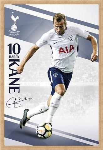 Framed Framed Tottenham Kane 17-18 -