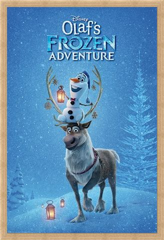 Framed Framed Ready For Action - Olaf's Frozen Adventure