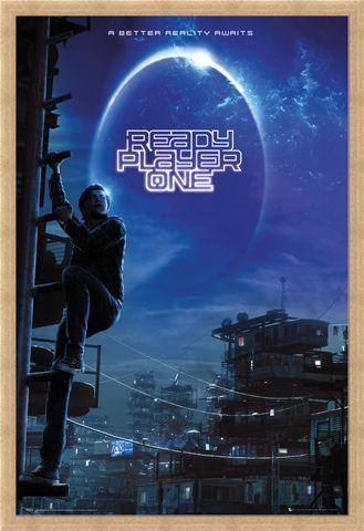 Framed Framed Wade Watts - Ready Player One
