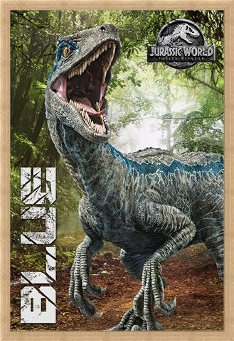 Framed Framed Fallen Kingdom- Blue - Jurassic World