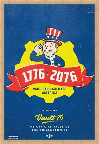 Framed Framed Tricentennial - Fallout 76