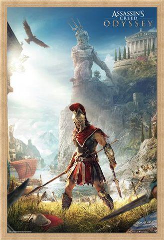 Framed Framed Odyssey Keyart - Assassins Creed