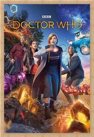 Framed Framed Doctor Who - Galactic Chaos