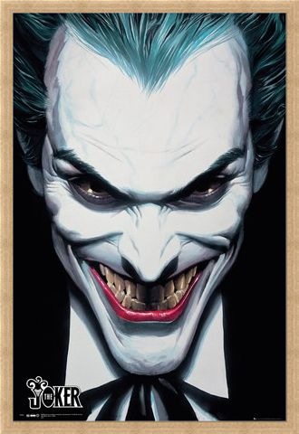Framed Framed DC Comics Joker - Alex Ross
