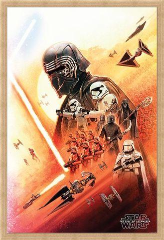 Framed Framed Kylo Ren - Star Wars: The Rise of Skywalker