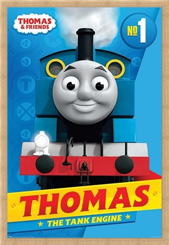 Framed Framed Thomas the Tank Engine - Thomas & Friends