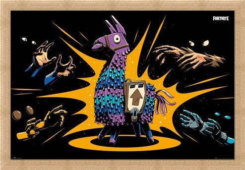 Framed Framed Loot Llama - Fortnite