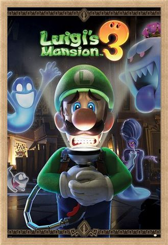 Framed Framed You're In For A Fright - Luigi's Mansion 3