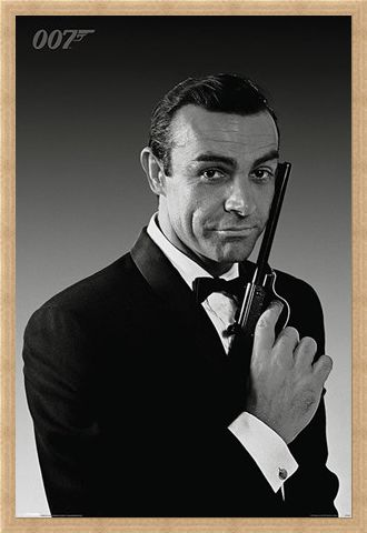 Framed Framed Sean Connery is James Bond - The Name's Bond... James Bond