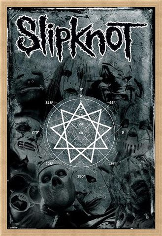 Framed Framed Pentagram - Slipknot