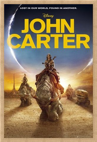 Framed Framed Lost in Our World, Found in Another - John Carter