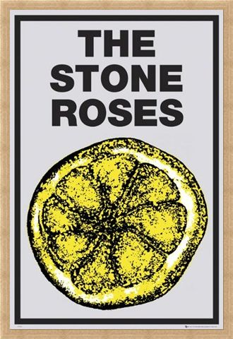 Framed Framed Lemon - The Stone Roses